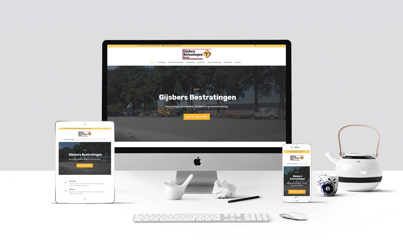 Gijsbers Bestratingen Deurne – augustus 2019