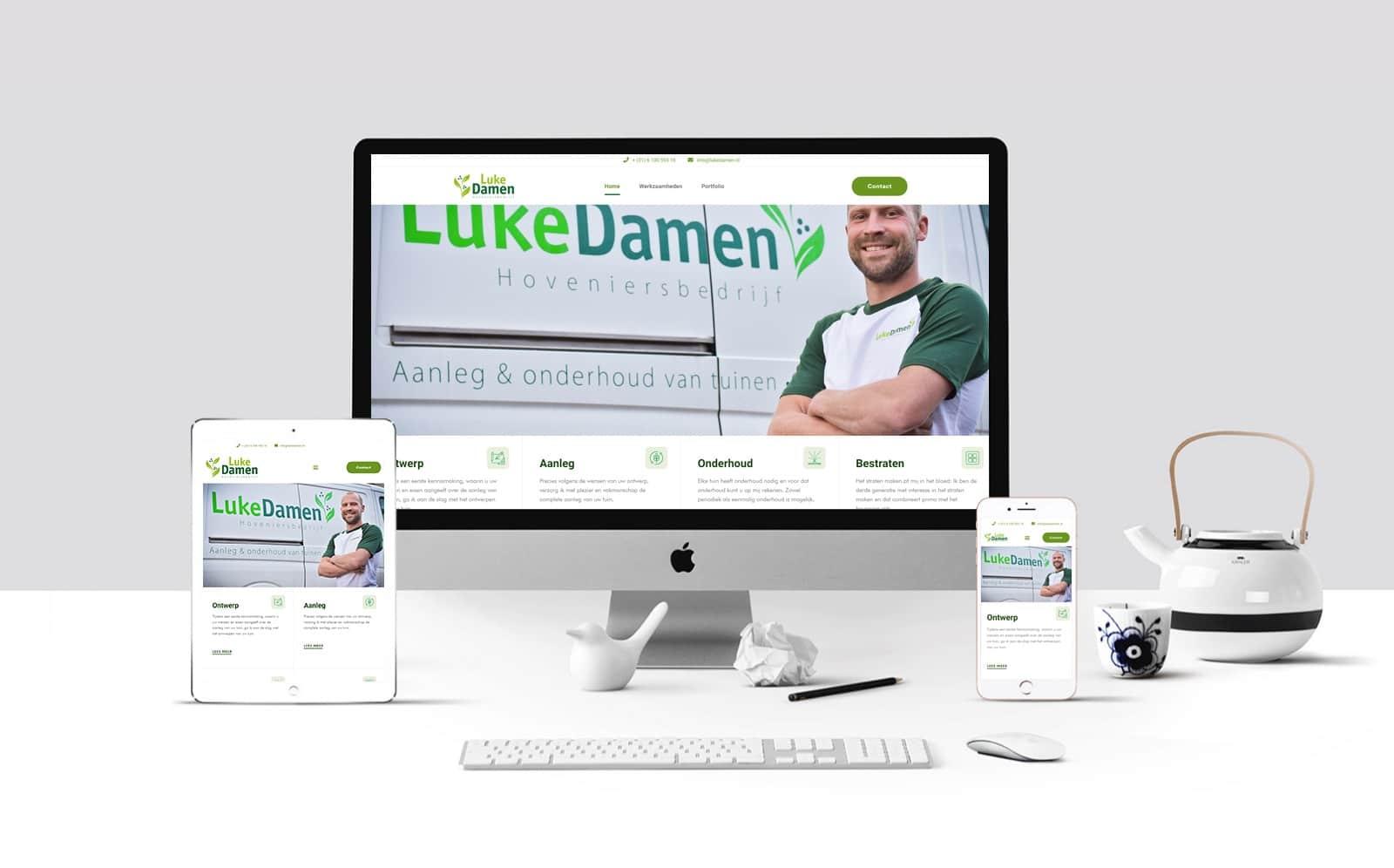 Luke Damen Hoveniersbedrijf – mei 2020